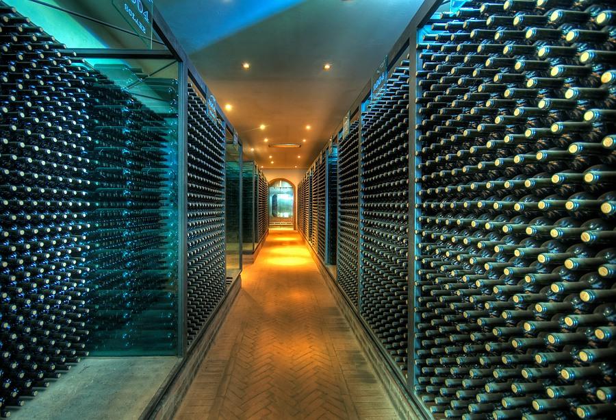 veel wijn